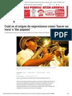 ¿De dónde viene la expresión 'dar papaya_ Responde Juan Gossaín - Música y Libros - Cultura - ELTIEMPO.COM