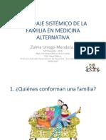 ABORDAJE INTEGRAL Y SISTEMICO DE LA FAMILIA EN MEDICINA ALTERNATIVA