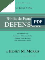 Biblia de Estudio del Defensor - 1° de Juan - KJV Español