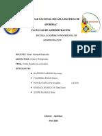 Monografia  costos basados en actividad