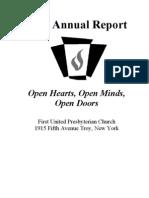 FUPC Annual Report 2010