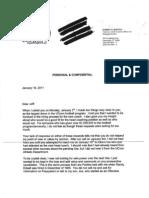 Burton letter