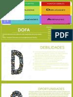 DOFA-Evaluacion y formulacion de proyectos