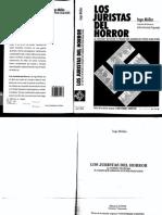 los juristas del horror-Ingo Múller