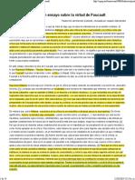 ¿Qué es la critica_ Un ensayo sobre la virtud de Foucault
