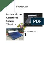PROYECTO Instalación de Colectores Solares Térmicos  ARREGLADO (1).docx