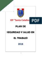 1.- Plan de Seguridad - IEP Santa Catalina
