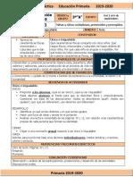 Septiembre - 3er Grado Formación C y E (2019-2020)