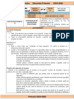Septiembre - 3er Grado Educación Socioemocional (2019-2020)