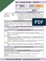Septiembre - 5to Grado Formación C y E (2020-2021)