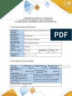 Guía de actividades y rubrica de evaluación - Fase 3 - Caracterizar el caso 2