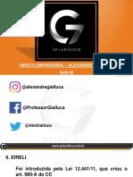 Slides do Professor - MP e Mag - D. Empresarial - Alexandre Gialluca - Aula 02