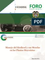Presentación Foro Mayoristas Buenas prácticas Biodiesel v2