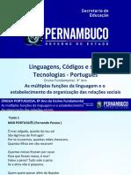 As múltiplas funções da linguagem e o estabelecimento da organização das relações sociais