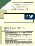 CARVALHO, José Murilo de. Cidadania no Brasil o longo caminho - resumo
