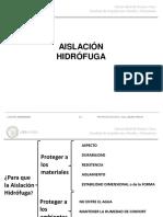 4-TEORICA N°4-AISLACION HIDROFUGA