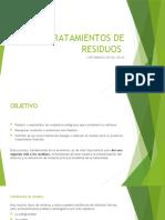 TRATAMIENTOS DE RESIDUOS- CA