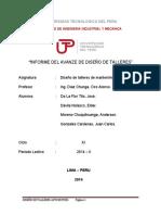 DISEÑO DE TALLERES SABADO