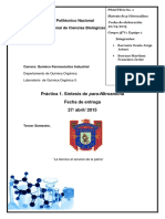 Reporte Orgánica2 practica 1