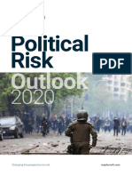 Verisk Maplecroft Political Risk Outlook 2020 - Estudio de perspectiva de riesgo político 2020