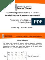 Programación Lineal Matricial