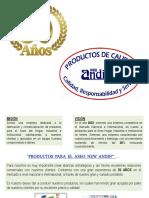 PRESENTACION CIA PRODUCTORA DEL AREA ANDINA S.A.S