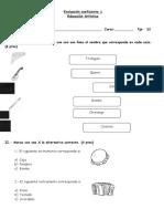 Evaluacion Ed Artistica