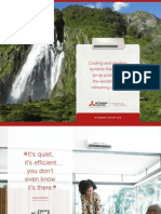 Mitsubishi Mr. Slim Mini Split Ductless Heat Pump and Air Conditioner 2011 Line Card Brochure