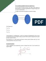 Funciones - El desplazamiento de una particula