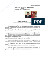 Senatoriales 2020 - Courrier Et Profession de Foi