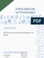 SOLUCIONARIO DE  ACTIVIDADES 11º.pptx