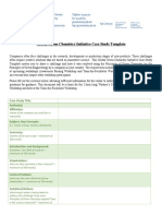 Global Green Chemistry Initiative Case Study Template - FINAL