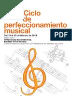 Cursos de perfeccionamiento musical 2011, Gerardo Núñez