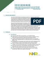 LPC2148 Datasheet.pdf