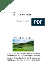 LEY 200 DE 1936.pptx