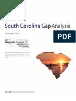 South Carolina Gap Analysis Report