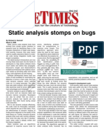 EETimes Article - Static Code Analysis