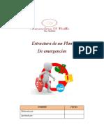 Estructura de un plan de Emergencias