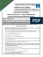 GUIA DE TRABAJO EXAMEN FINAL - SOCIALES 9°A
