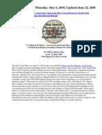 Obama - Catalog of Evidence - Apuzzo