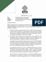 CIRCULAR 008 - PROCURADURIA GENERAL DE LA NACION