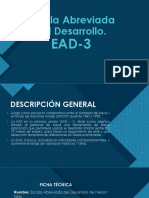 Escala Abreviada del Desarrollo (EAD-3) de Nelson Ortiz