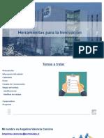 PRESENTACION HERRAMIENTAS PARA LA INNOVACION