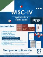 WISC-IV. Presentación