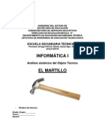 analisis sistemico del martillo
