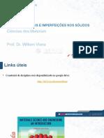 Aula 05 - Defeitos e Imperfeições Nos Sólidos - Ciências Dos Materiais- - Unifacs
