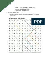 Corrección Evaluación II Momento algebra Lineal - Grupo # 10
