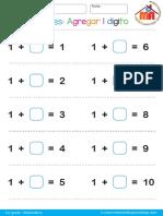 001 Sumas 1er grado agregar 1 dígito fácil.pdf