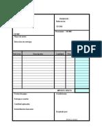 Plantillas de documentos de aprovisionamiento