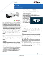 Manual camera supraveghere IP Dahua HFW5241E-ZE_Datasheet_20200618